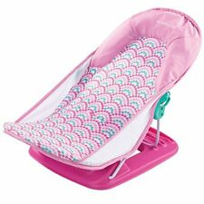 Summer Deluxe Baby Bather, Bubble Waves for newborn bath and shower foldable