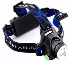 Bright 5000 Lumens CREE XML T6 Zoom Headlight Torch Rechargeable Head Lamp