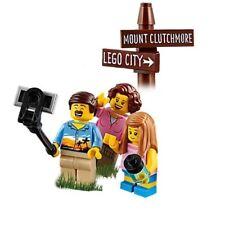 Lego City Outdoor Minifigure with German Shepard /& Walking Sticks 60202 Hiker