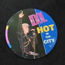 Billy Idol - Hot In The City - Exterminator Mix - 12'' Picture Disc LTD EDITION