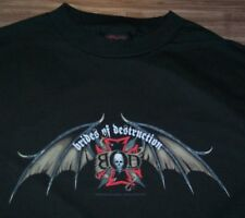 BRIDES OF DESTRUCTION  T-Shirt SMALL NEW Nikki Sixx Metal Band