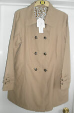 Women's Cotton Blend Hip Length Trench Coats, Macs Coats & Jackets
