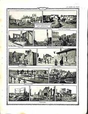 Offensive en Champagne Suippes Place Ecole Saint-Hilaire Cimetière de  1914 WWI