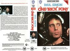 ONE TRICK PONY - Paul Simon -VHS - PAL -NEW - Never played! -Original Oz release