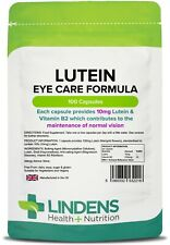 Lutein Comprimés 10mg Capsules Retina Santé occulaire Lindens