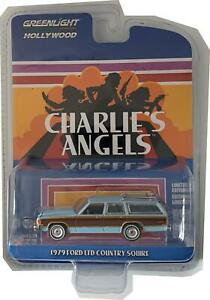 Charlie's Angels 1979 Ford Ltd Country Squire in blue 1:64 scale