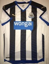 Puma Adult Newcastle Home Soccer Jersey. Adult Size: Small