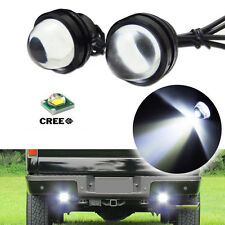 2x High Power Bull Eye CREE LED Projector Light Pickup Cars Backup Reverse Lamps