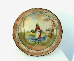 RARE ROYAL DOULTON SERIESWARE FRUIT BOWL - BLUEBELL GATHERERS D3812 - EXCELLENT!