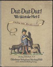 KINDERREIME Stalling - Bilderbuch mit schönen Illustrationen 1949 - Original!