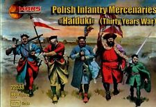 Mars 1/72 Thirty Years War Polish Mercenaries Haiduki # 72033