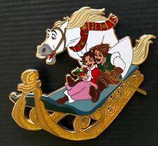 Disney Tangled Christmas Fantasy Pin Maximus Rapunzel Flynn LE 75 Brown Hair
