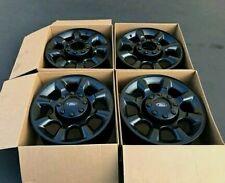 "20"" FORD F250 F350 Super Duty  WHEELS RIMS Black Factory ORIGINAL OEM SET 4 3844"