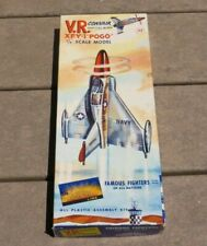 "Aurora #60 1:48 scale Convair XFY-1 ""Pogo"" Famous Fighters"