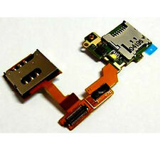 Sony Ericsson Vivaz Pro U8 U8i Sim SD Card Holder Reader Flex cable Ribbon UK