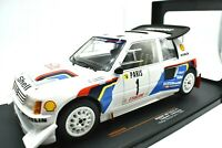 Model Car Peugeot 205 T16 E2 Monte Carlo Scale 1:18 IXO Rally 1986 Rallye