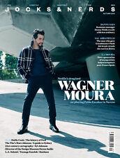 Jocks & Nerds Magazine issue # 20 Wagner Moura by Gavin Bond NEW NEW