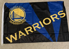 Nba Golden State Warriors Team Flag (New) 28 Inches Tall 40 Inches Wide