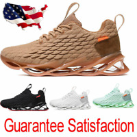 Men's Breathable Trainers shoes Running Outdoor Sports Sneakers athletic Shoes