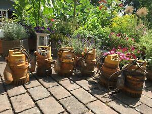 6 Stück Jung Pumpen U 6 K Niro ES 230 V Drainagepumpen mit Schaltautomatik