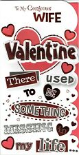 To My Gorgeous WIFE - Quality VALENTINE'S DAY CARD - Valentines