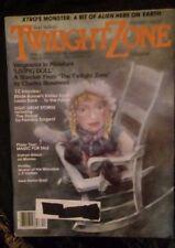 The twilight zone magazine December 1982 BLADE RUNNER'S RIDLEY SCOTT LOOKS BACK