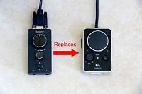 Replacement Control Pod for Logitech Z-4 Computer Speakers z4 Remote Volume Ctrl