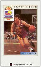 1993 Futera Australia Basketball Cards NBL Honours Award H1: Scott Fisher