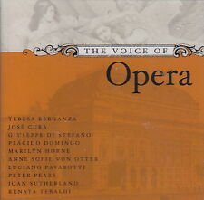The Voice of Opera (2 CDs, 2003 Decca/MHS) Greatest Voices/Popular Arias/30 Trax