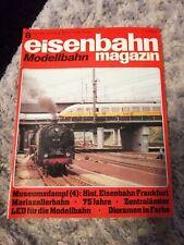 eisenbahn Modellbahn magazin 8 / 1982 - Mariazellerbahn, Hist.Eisenbahn Ffm
