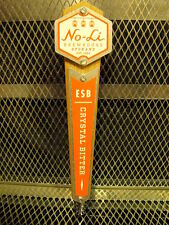 No-Li BREWHOUSE Spokane WA ~ RARE ~ ESB Crystal Bitter ~ Beer Tap Handle
