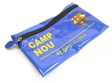 Barcelona FCB Nou Camp Straßenschild Federmäppchen Schule Schreibwaren Blau