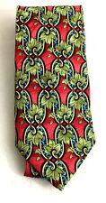 Electric Neckwear Power Tie Mens Silk Handmade Necktie Vintage 1990's