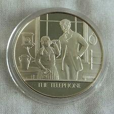 El teléfono la humanidad invenciones caracteriza medalla de plata prueba