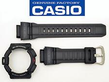 CASIO G-Shock WATCH BAND & BEZEL G-9300 G9300 BLACK ORIGINAL  Mudman tough solar