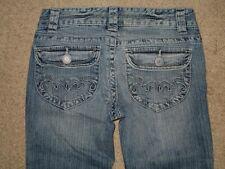 Aeropostale Size 1 / 2 Hailey Skinny Flare Stretch Womens Jean