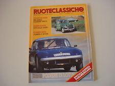 RUOTECLASSICHE 12/1991 FIAT 525/LANCIA FLAMINIA/ALFA ROMEO GIULIETTA SPRINT/ELAN