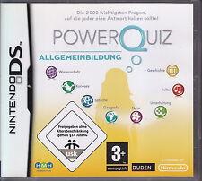 Gioco NINTENDO DS Power Quiz ALLGEMEINBILDUNG Deutsch USED