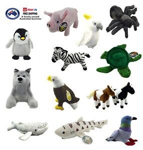 STUFFED ANIMAL x1 soft plush toy cute teddy bear doll kids birthday gift