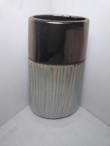 IMAX Home Z26339 Ceramic Vase Color: Antique Bronze, Cream