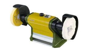 "Proxxon Polishing machine 4"" PM100 Buffing bench 27180 / Direct from RDGTools"