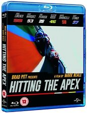 HITTING THE APEX (2015): Narrated by: Brad Pitt - MotoGP Film NEW RgFree BLU-RAY