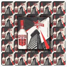 25 SMIRNOFF VODKA Pub Beer Mats Coasters | Pub World Memorabilia