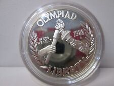 1988 US Olympic Proof Silver Dollar Commemorative Coin Capsule