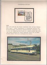 Straßenbahn-Jubiläen, 15 J. in Wien, mit AK+Bfm+SSt,  aus Straßenbahnsammlung