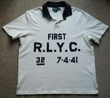 Vintage Polo Ralph Lauren R.L.Y.C RLPC Yacht Club 90s Polo Rugby Short Sleeve XL