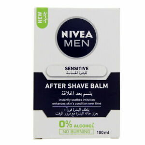Nivea Men Sensitive After Shave Balm Instantly Soothes Irritation 100ml