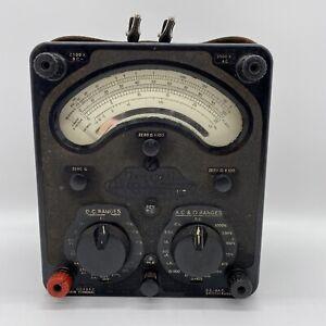 Vintage Retro Universal Avometer Model 8  MK III - Untested