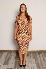 Diane Von Furstenberg Bias-cut Silk Dress With Collar, Excellent Condition