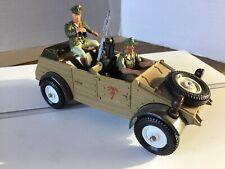Britains Deetail German WW2 Afrika Korps White Wheel Kubelwagen - SUPERB